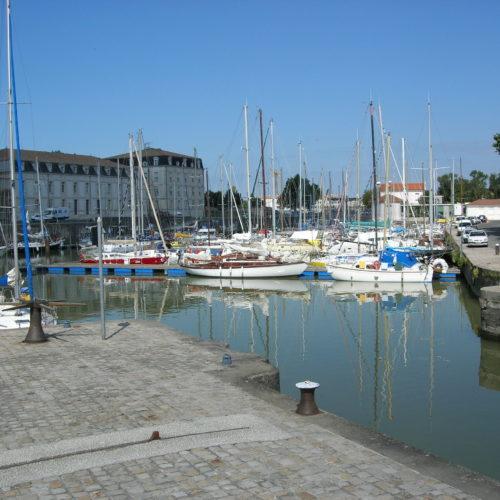 Le port de Rochefort